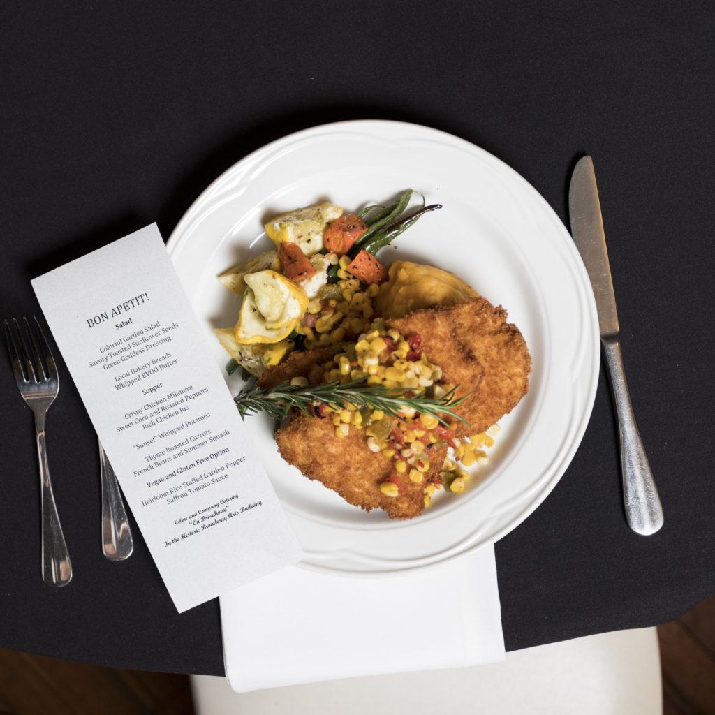 Corporate Dinner Plate